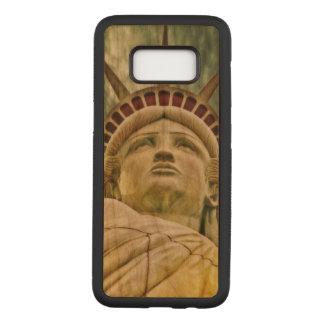 Liberty Samsung Galaxy S8 Slim Cherry Wood Case