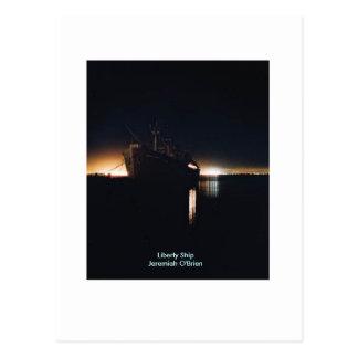 Liberty Ship  SSJeremiah O'Brien - Customized Postcard