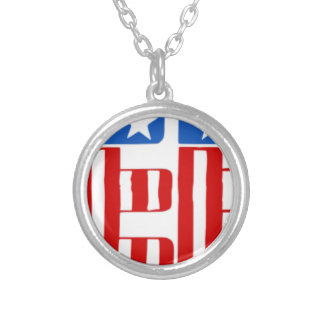 Liberty Silver Plated Necklace