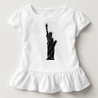 liberty statue on kids t shirt