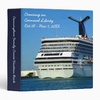 Liberty Stern Custom Cruise Memory Book 3 Ring Binder