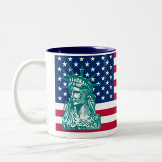 Liberty Two-Tone Coffee Mug