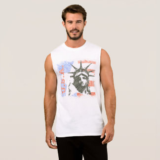 LIBERTY USA SLEEVELESS SHIRT