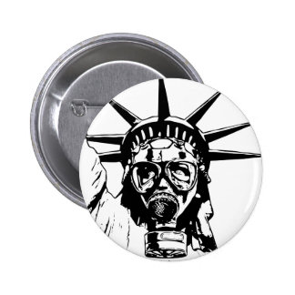 LIBERTY with Gas Mask Buttons