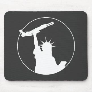 Liberty with Shotgun Mouse Pad