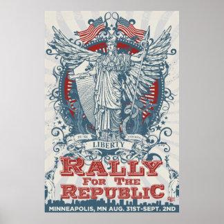 LibertyManiacs Rally Huge Poster