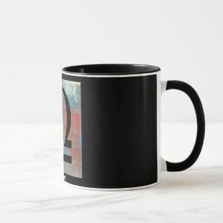 """LIBRA"" 11 oz. ZODIAC RINGER COFFEE MUG"