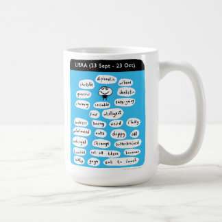 LIBRA (23 Sept - 23 Oct) Coffee Mug