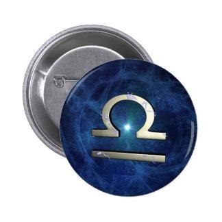 Libra 2 Inch Round Button