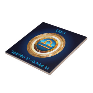 Libra Astrological Sign Tiles