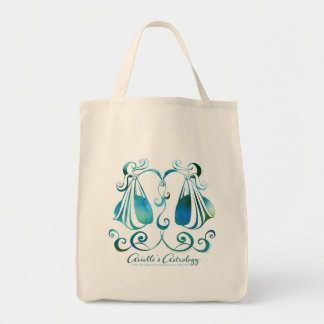 Libra Astrology Grocery Tote Bag