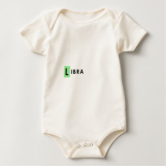 LIBRA COLOR BABY BODYSUIT