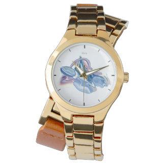 Libra design zodiac sign watch