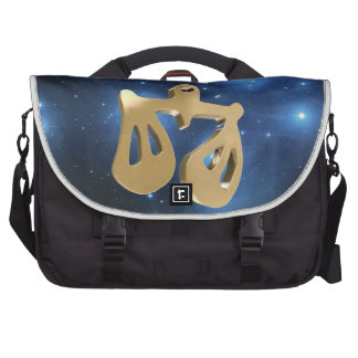 Libra golden sign commuter bag