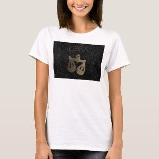 Libra golden sign T-Shirt