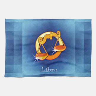libra horoscope kitchen towel