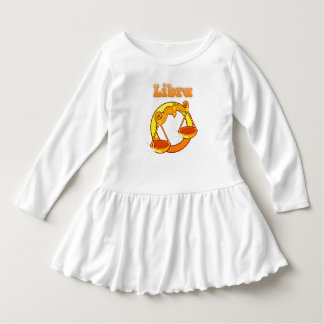 Libra illustration dress