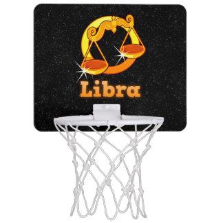 Libra illustration mini basketball hoop