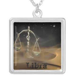 Libra In The Desert Necklace