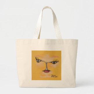 libra large tote bag