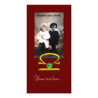 LIBRA PICTURE CARD