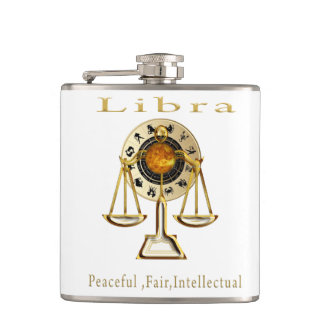 Libra products hip flask