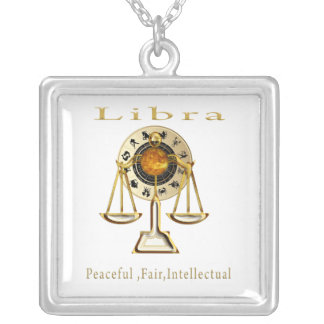 Libra products silver plated necklace