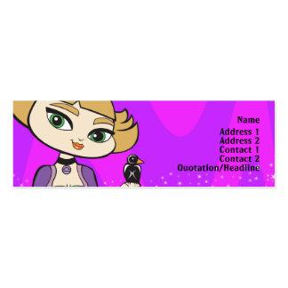 Libra Profile Card Mini Business Card
