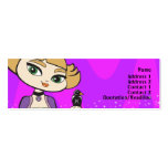 Libra Profile Card Pack Of Skinny Business Cards