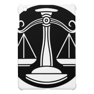 Libra Scales Zodiac Horoscope Sign iPad Mini Cover