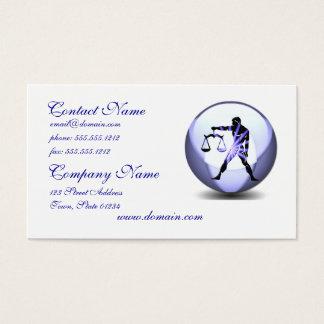 Libra Symbol Business Card
