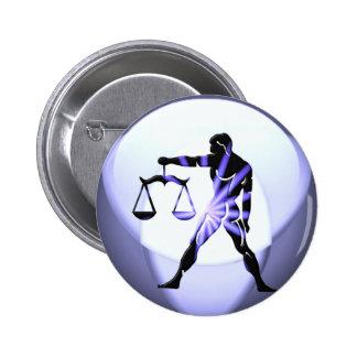 Libra Symbol  Button