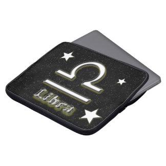 Libra symbol laptop sleeve