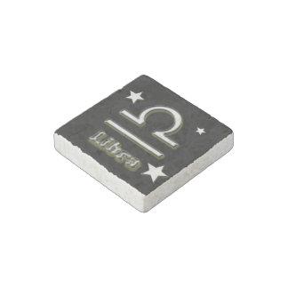 Libra symbol stone magnets