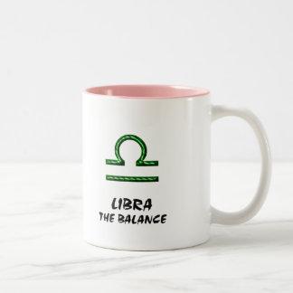 Libra the balance mug