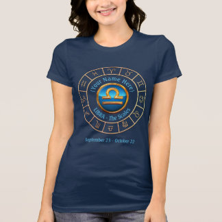 Libra - The Scales Zodiac Sign T-Shirt