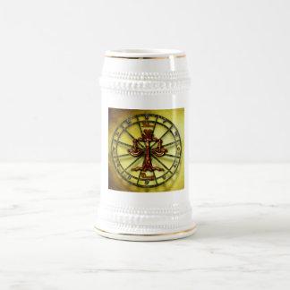 Libra Zodiac Astrology design Beer Stein