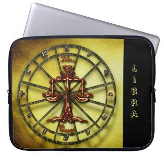 Libra Zodiac Astrology design Horoscope Laptop Sleeve