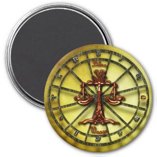 Libra Zodiac Astrology design Horoscope Magnet