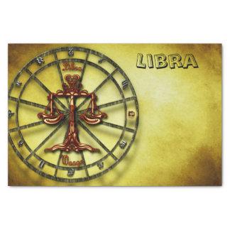 Libra Zodiac Astrology design Horoscope Tissue Paper
