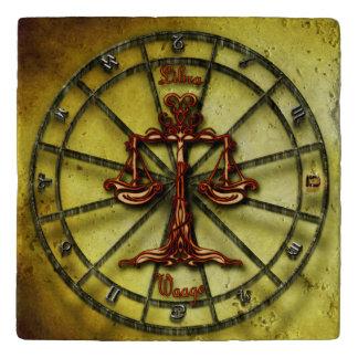 Libra Zodiac Astrology design Horoscope Trivet