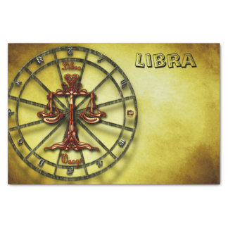Libra Zodiac Astrology design Tissue Paper