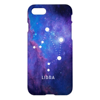 Libra Zodiac Constellation Cosmos Background iPhone 8/7 Case