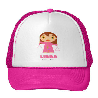 Libra Zodiac for Kids Trucker Hat