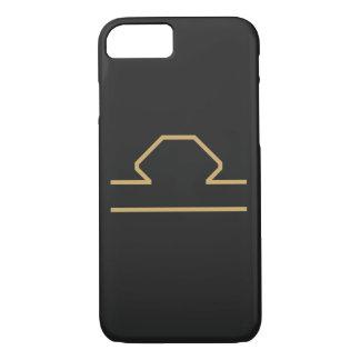 Libra Zodiac Sign Basic iPhone 8/7 Case