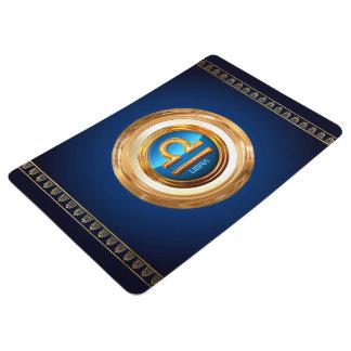 Libra Zodiac Sign Floor Mat