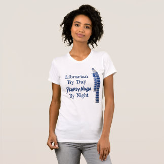 Librarian By Day - Fine Jersey T-Shirt