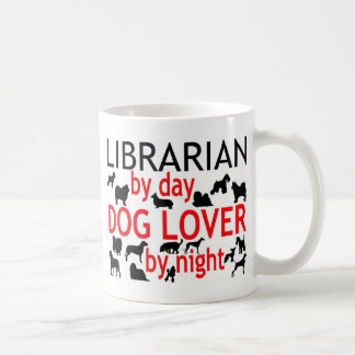 Librarian Dog Lover Coffee Mug