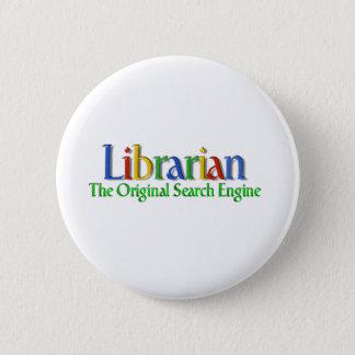 Librarian Original Search Engine 2 Inch Round Button