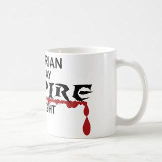 Librarian Vampire by Night Coffee Mug
